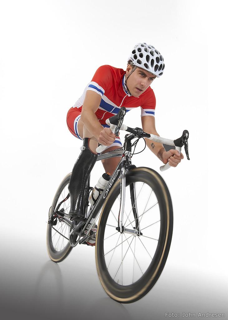 Syklist Morten Jahr