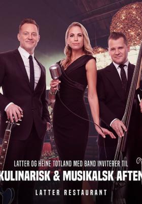 Kulinarisk og musikalsk aften med Heine Totland